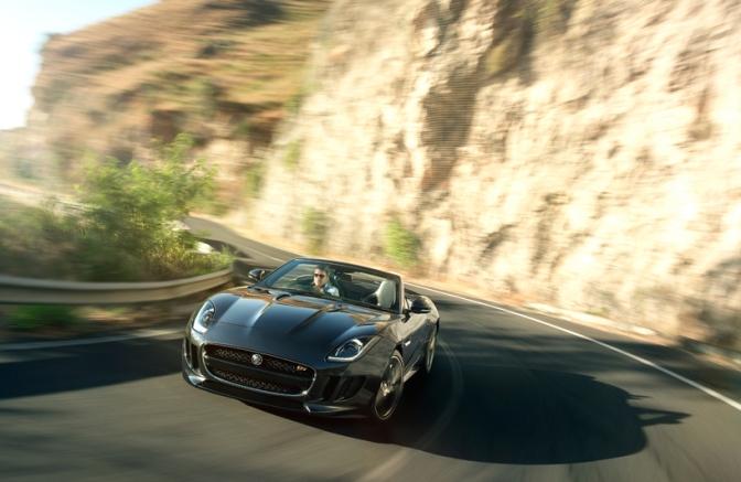 Rad Ride: Jaguar F Type