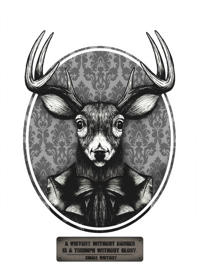 Illustration: Deer Hunter