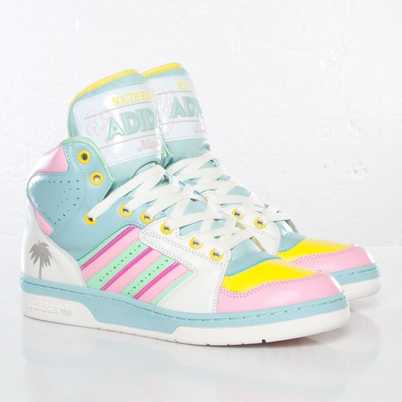 Sneaks : Adidas Originals JS License Plate Miami