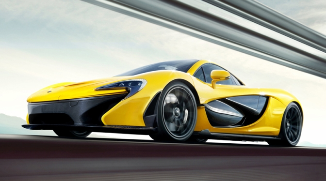 Rad Ride : Mc Claren P1 Supercar
