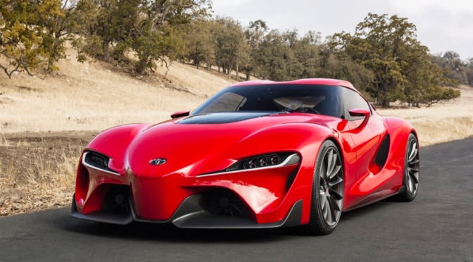 Rad Ride : Toyota FT-1 Supra Concept